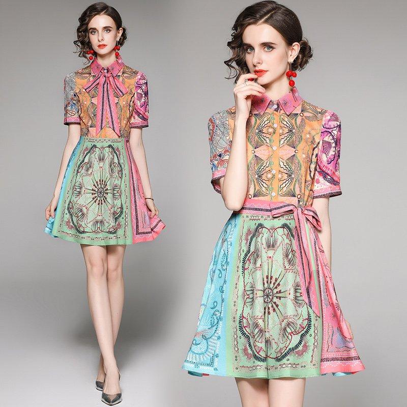 Multi colour dress