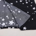 Star print kaftan