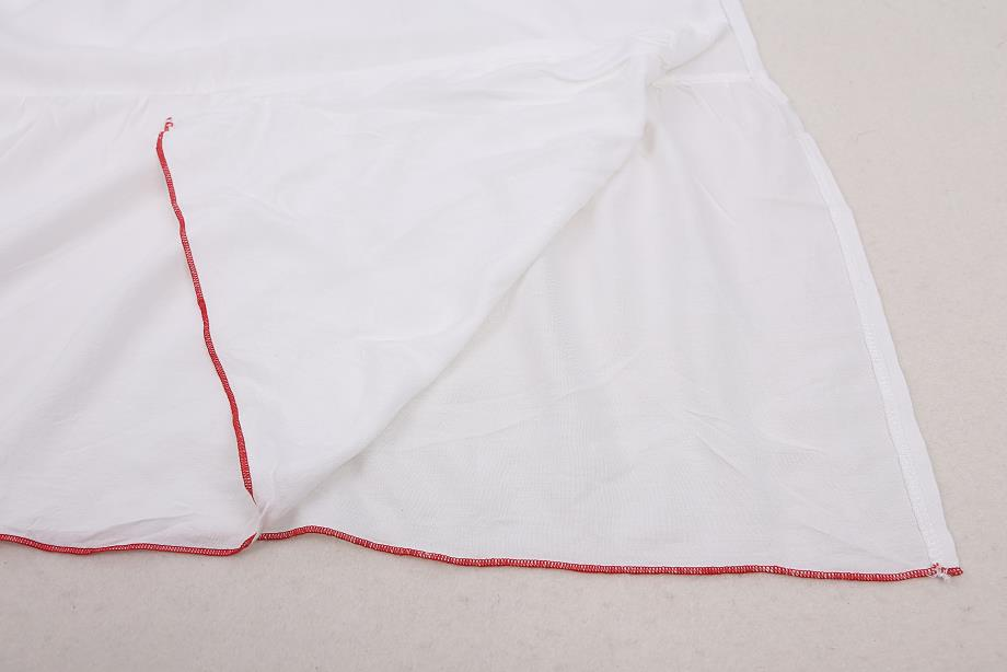 White embroidered kaftan