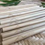 Box of Eco-friendly Bamboo Straws