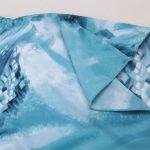 Flowy blue kaftan