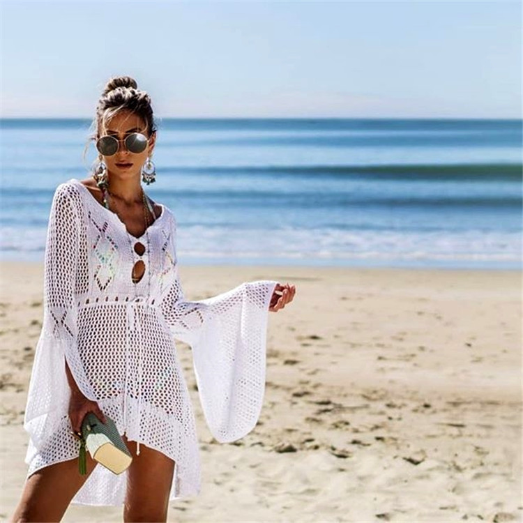 Stylish beach cover-up