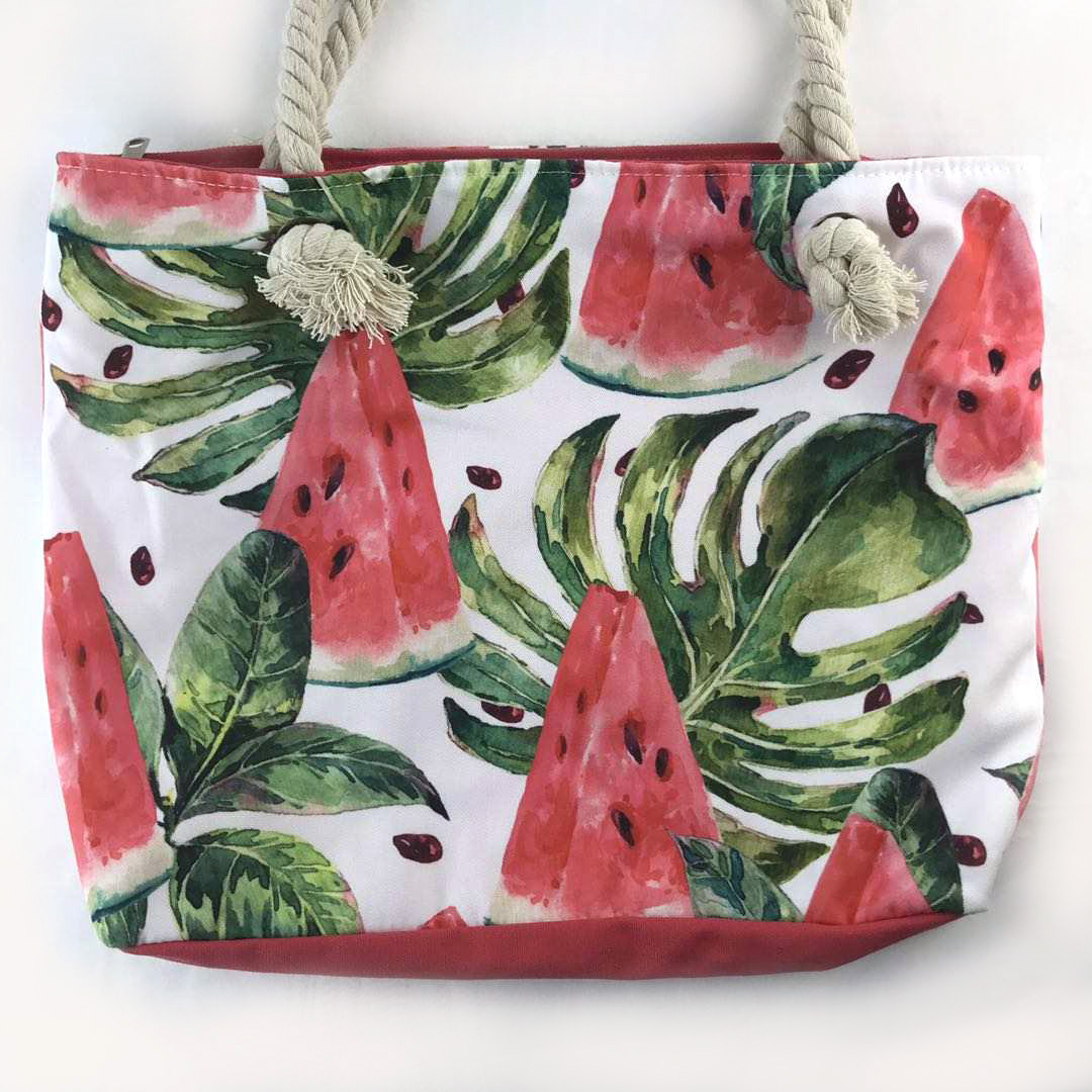 Watermelon beach bag