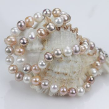 Near-Round Pearl Necklace