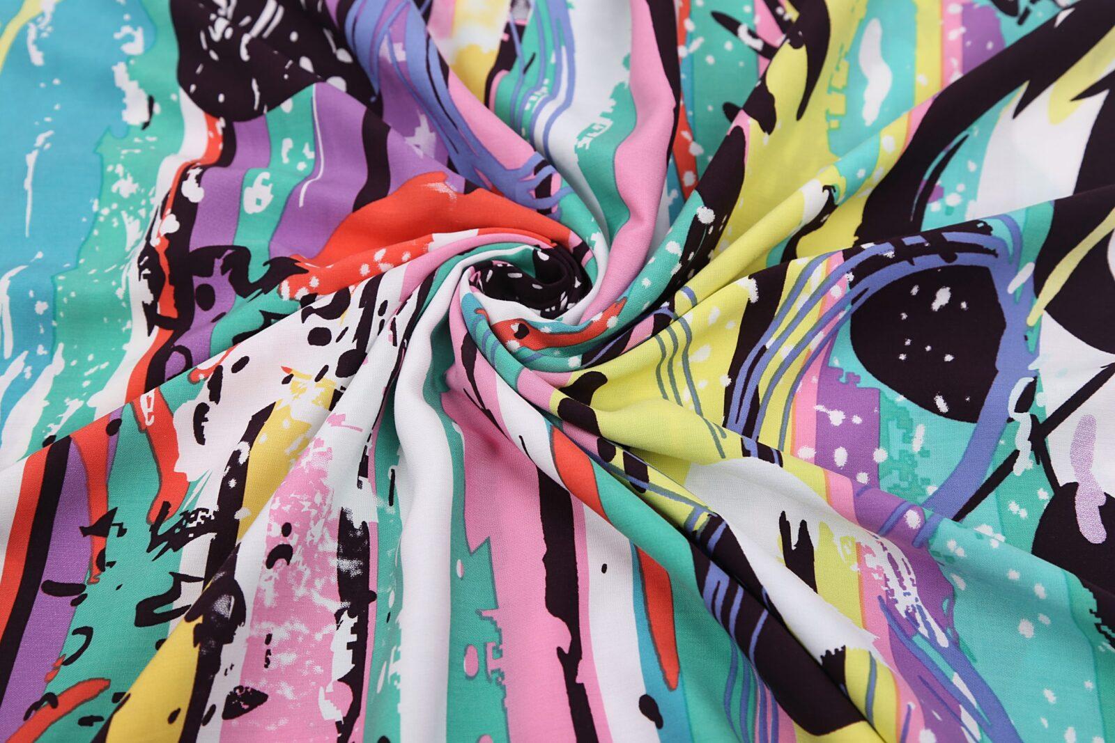 Multi-colour kaftan