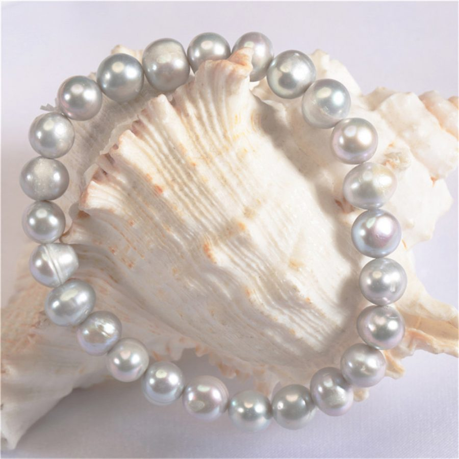 Potato Freshwater Pearl Bracelet