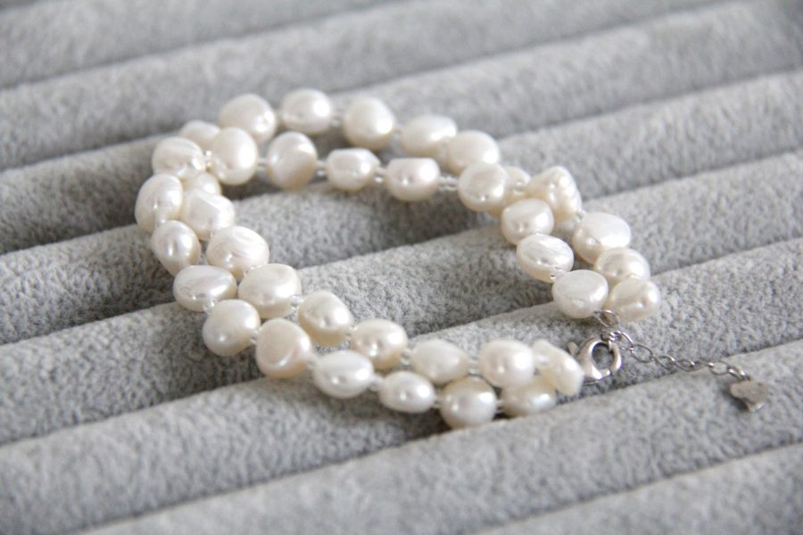 Double baroque bracelet