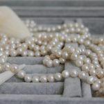 254cm Long Potato Pearl Necklace