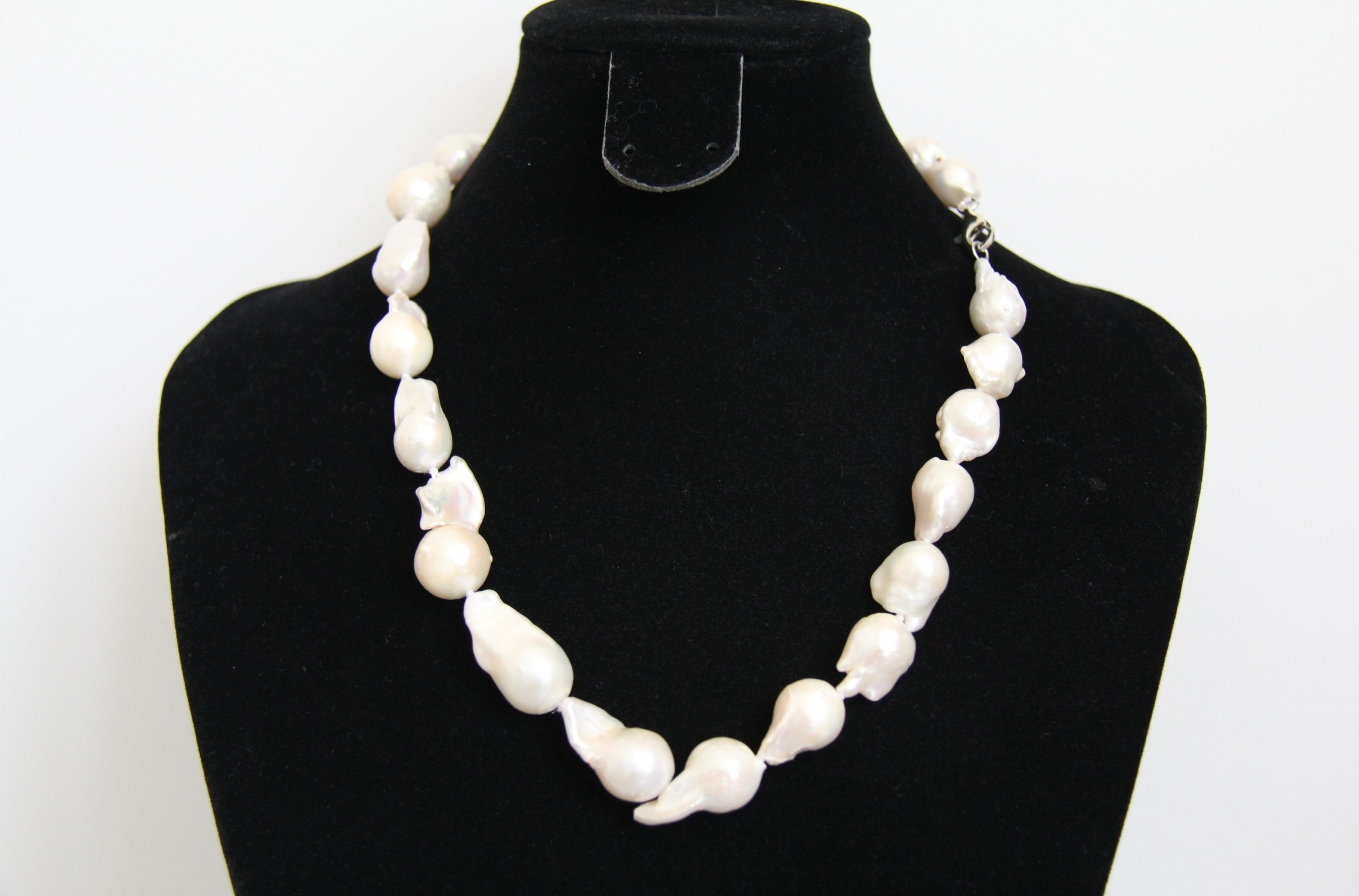 Large Baroque Freshwater Pearl Necklace