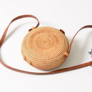 Fullmoon rattan bag - small