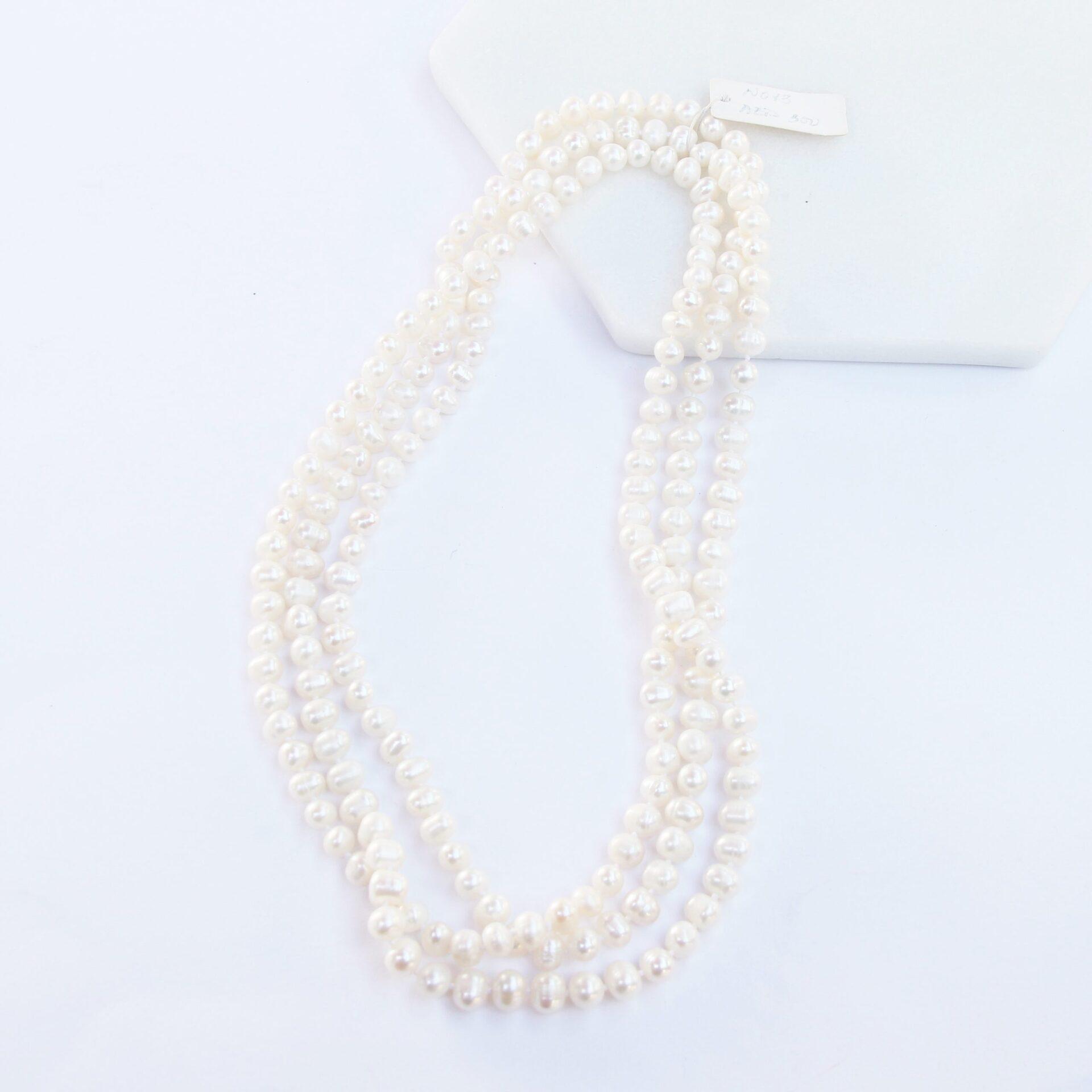 152cm Long Potato Pearl Necklace