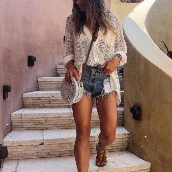 Crochet blouse