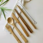 Bamboo/Wood Eco-friendly Cutlery Set
