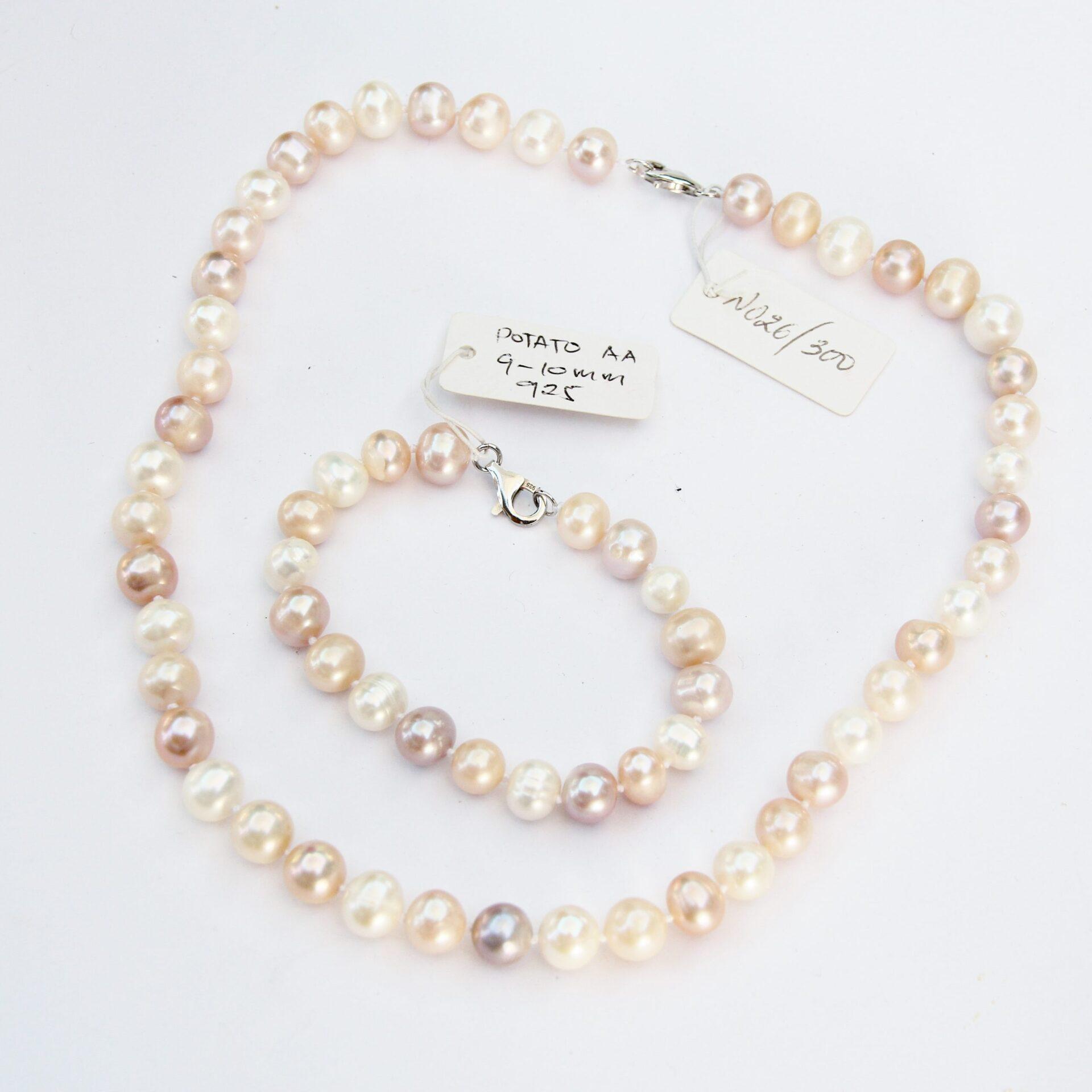 Potato Pearl Necklace